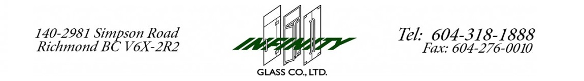 Infinity Glass Glass Services